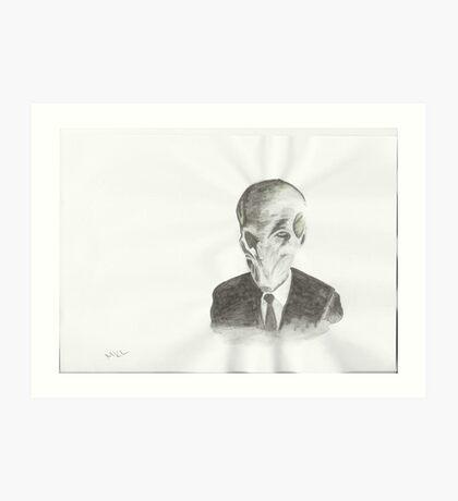 Silence DW Art Print