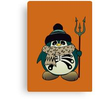 Harold The Penguin Canvas Print