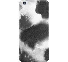 Moonscape Black - Circles iPhone Case/Skin