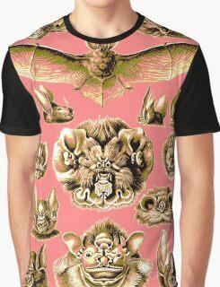 Bat Face Graphic T-Shirt