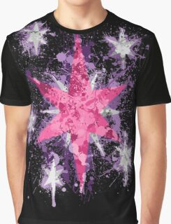 Twilight Sparkle CM Splatter Graphic T-Shirt