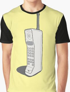 Retro Mobile Graphic T-Shirt