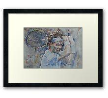 Rafa Nadal - Portrait 4  Framed Print