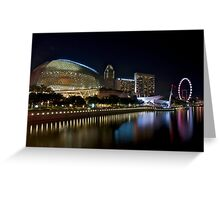 The Esplanade Theatres on the Bay Greeting Card