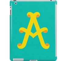 Uppercase A iPad Case/Skin