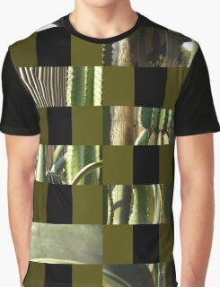 Cactus Garden Art Rectangles 15 Graphic T-Shirt