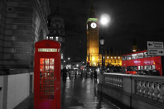 Westminster At Night by CalumCJL