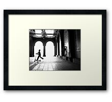 Scooter by Bethesda Framed Print