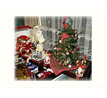 Christmas 2011 - Merry Christmas to all Art Print