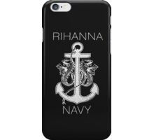 Rihanna Navy Design iPhone Case/Skin