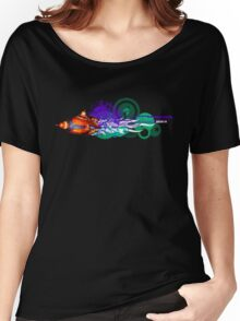 Flower Power vs Rocket Science Women's Relaxed Fit T-Shirt