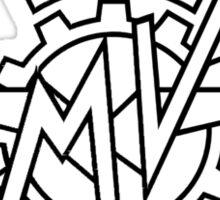 Agusta Motors - Black Logo Sticker