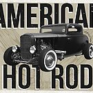 American Hot Rod - brown version by htrdesigns