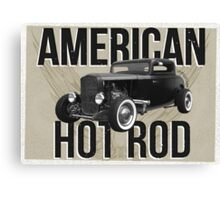 American Hot Rod - brown version Canvas Print