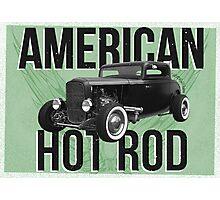 American Hot Rod - green version Photographic Print