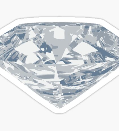 Large Diamond Bling Sticker
