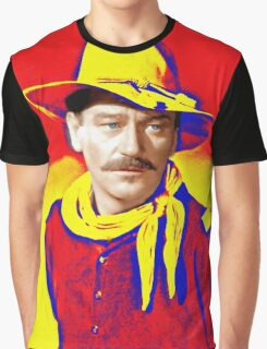 John Wayne in Rio Grande Graphic T-Shirt