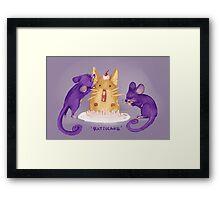 Ratticake Framed Print