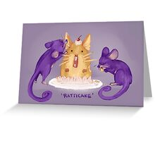 Ratticake Greeting Card