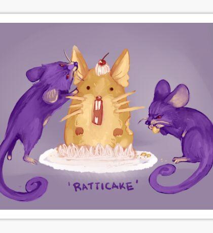 Ratticake Sticker