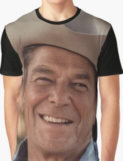 President Ronald Reagan Graphic T-Shirt