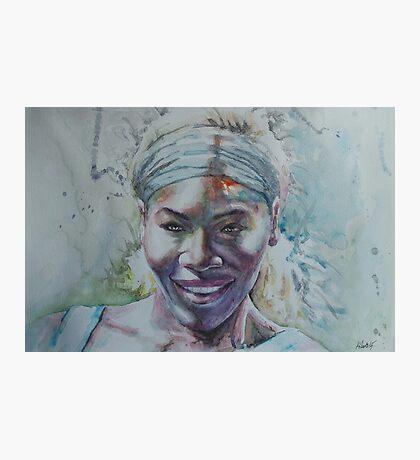 Serena Williams -1 Photographic Print