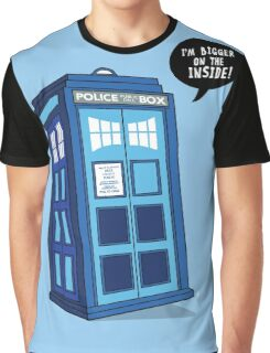Bigger on the Inside - Doctor Who Shirt Graphic T-Shirt