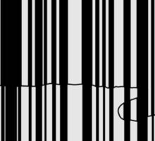 Barcode Cat Sticker