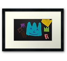 Crown Party Framed Print