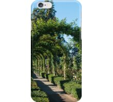 Arbour, Butchart Gardens iPhone Case/Skin