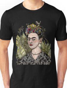 Frida Kahlo Self Portrait #2 (my version) Unisex T-Shirt
