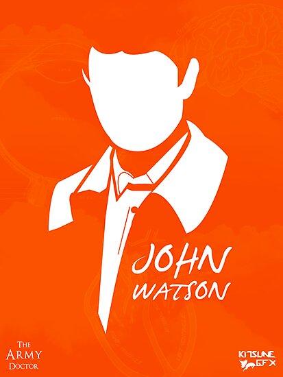 John H Watson by KitsuneDesigns