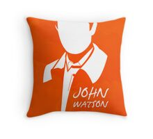 John H Watson Throw Pillow