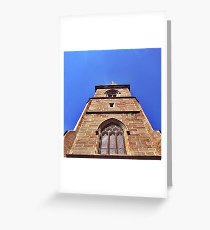 Gothic Revival Cathedral. Greeting Card