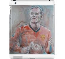 Wayne Rooney - Portrait 1 iPad Case/Skin