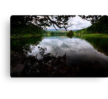 Reflections Of Rydal Water Canvas Print