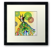 Android Contemplation Framed Print
