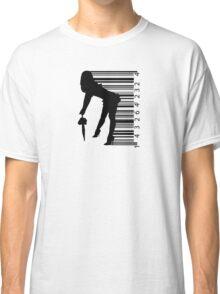 Barcode Sexy girl Classic T-Shirt