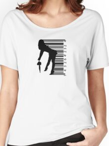 Barcode Sexy girl Women's Relaxed Fit T-Shirt