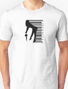 Barcode Sexy girl Unisex T-Shirt
