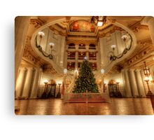 Capital Christmas Canvas Print