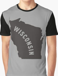 Wisconsin - My home state Graphic T-Shirt