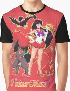 Pretty Guardian Trainer Mars Graphic T-Shirt