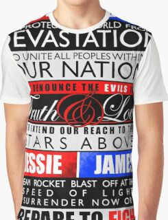 Pokemon - Team Rocket Motto Graphic T-Shirt