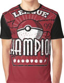 Pokemon League Champion Graphic T-Shirt