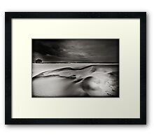 Snow Trenches Framed Print