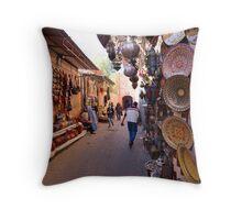 Morocco - Marrakech Throw Pillow