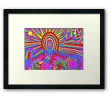 illumination Metamorphosis  Framed Print
