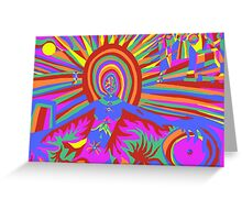 illumination Metamorphosis  Greeting Card
