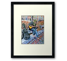 Guitar Man Framed Print
